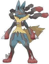 My forth fav Pokemon Mega Lucario