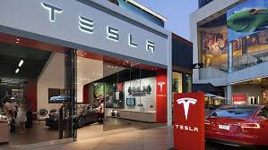 tesla stock is it a right now
