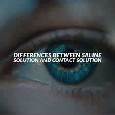 what is saline solution for my eyes