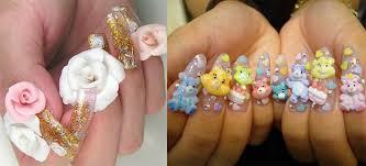 anese kawaii cute nail art nail