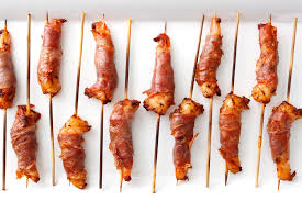 Prosciutto-Wrapped Shrimp with Smoked ...