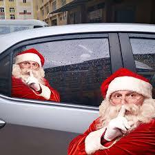 Christmas Decoration Santa Claus Car Sticker Decal Kissgirly