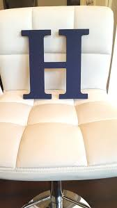 Navy Blue Letter Hand Painted Letter H Door Hanger Boy Boys Room Letter Playroom Letter Kids Room Wall Letter Wood Hanging Letter By Aaliyahsletters Catch My Party