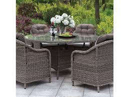 canistota gray 59 round patio table