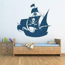 Hot Sale Pirate Ship Wall Sticker For Kids Room Wall Sticker Children S Wall Decal Art Home Decor Sticker For Kids Room Wall Stickers For Kidswall Sticker Aliexpress