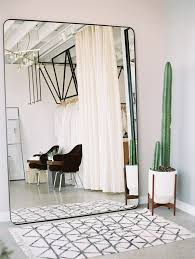 oversized wall mirror cute cactus and