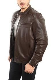 genuine lambskin leather biker jacket