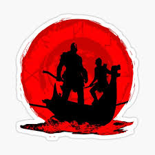 God Of War 3 Stickers Redbubble