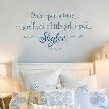 Wall Decals For Girls Once Upon A Time Personalized Decal Old Barn Rescue