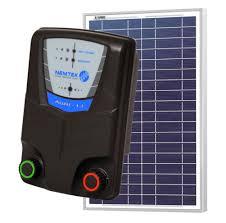 Nemtek Solar Electric Fence Energiser 5km With Remote 10 Watt Solar Panel Commodore Australia