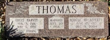 THOMAS, MYRTLE - Clark County, Arkansas | MYRTLE THOMAS - Arkansas ...