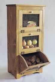 diy kitchen storage potato storage