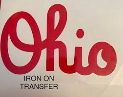 Ohio State Decal Etsy