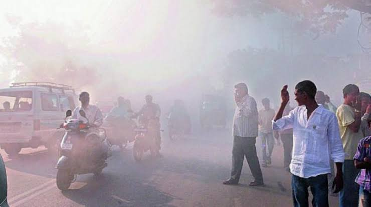 Image result for HYDERABAD DIWALI POLLUTION""