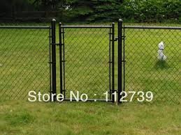 Common Type Chain Link Fence Gate 1 2m Height 32mm Post Size Low Carbon Steel Wire 2 9mm Opening 35mm Steel Dog Fence Steel Slapsteel Coin Aliexpress