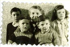Top L-R: Brian Smith, Florence Ada (Barnes) Poynter, Patricia Poynter  (daughter of Arthur Poynter); and in front Martin John Smith and Anthony  Poynter and family images