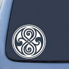 Seal Of Rassilon Dw Whovian Logo Sticker Decal Notebook Car Laptop