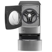 Máy giặt sấy lồng đôi TwinWash Inverter LG F2721HTTV & T2735NWLV (21kg) -  Hàng Chính Hãng - META.vn