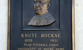 Knute Rockne the third-greatest all-time coach per Sports Illustrated