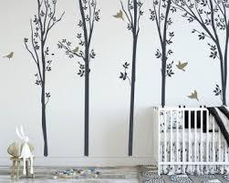 Tree Wall Decals For Nursery Kids Children Room Baby Boy Girl Vinyl Wall Art Stickers