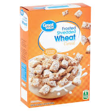 frosted shredded wheat breakfast cereal