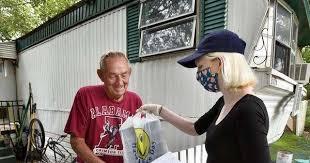 Coronavirus: 'Meals on Wings' keep homebound Jacksonville seniors fed