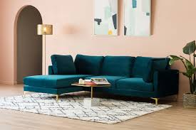 adams chaise sectional sofa with
