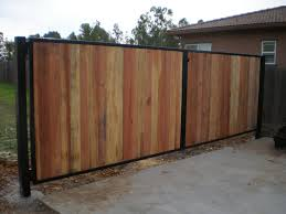 Wood Fence Metal Gate Frame For Wood Fence