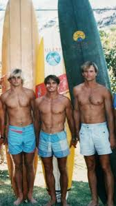 Vintage Surfers Laird Hamilton & Buzzy Kerbox … | Surfing waves ...