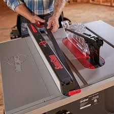 New Tool Sawstop Jobsite Saw Pro Table Saw Features Multiple Upgrades