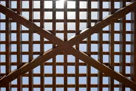 21 Trellis Fence Panels Stock Photos Pictures Royalty Free Images Istock