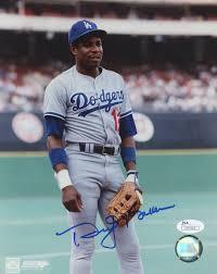 Dusty Baker Signed Dodgers 8x10 Photo (JSA COA)   Pristine Auction