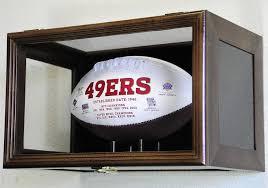 football display case wall mounting