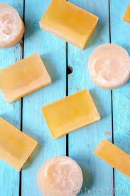 homemade glycerin soap recipe from