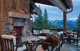 enjoy your small winter patio