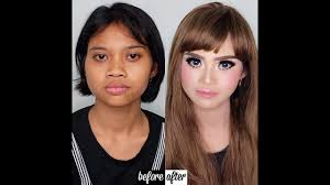 makeup before after asian amazing
