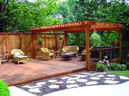 outdoor pergola backyard