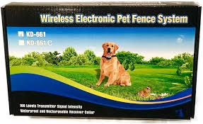 Amazon Com Ruff Wireless Pet Containment System Rechargeable Waterproof Collar Dog Fence Easy Setup 1 Pet System Ruff Pet Supplies