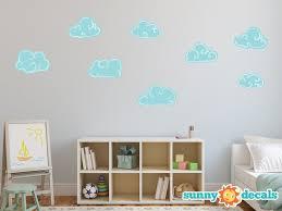 Sunny Decals Hand Drawn Cloud Fabric Wall Decal Wayfair