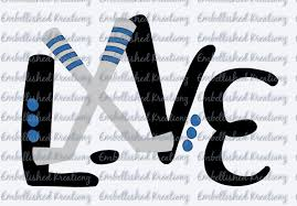 Hockey Son Hockey Love With Hockey Sticks Puck Dots Vinyl Decal Tumbler Window Decal Shirt Hockey Car Decal Ho Sports Vinyl Decals Vinyl Decals Hockey Decals