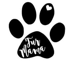 Fur Mom Decal Etsy
