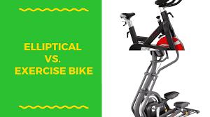 stationary bike vs elliptical how is