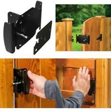 Gate Latch Fence Gates Handle Latches 2 Way Reversible Push Pull Open Activation 7445005636695 Ebay