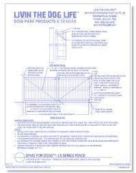 Gyms For Dogs Run Play Garden Style Dog Park Fence Service Gate With Self Close Hinge And Latch Caddetails