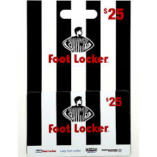 foot locker gift card 25 gift cards