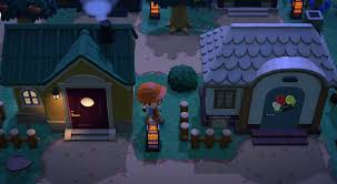 Acnh Halloween Design Decoration Ideas For Animal Crossing New Horizons Island