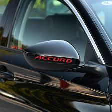 Big Sale B1cd9 Car Stickers For Honda Accord Car Windows Door Decal Sticker Car Styling Decoration Auto Accessories Cicig Co