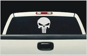 Car Truck Graphics Decals Auto Parts And Vehicles Punisher Pack Fits Dodge Ram Rear Window Decal Punisher Decals 7 Decal Set Megeriancarpet Am