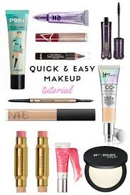 quick easy makeup tutorial the
