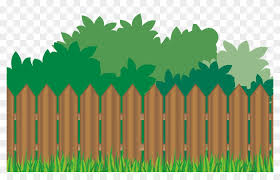 Wood Fence Grass Background Garden Background Clipart Free Png Download 867131 Pikpng